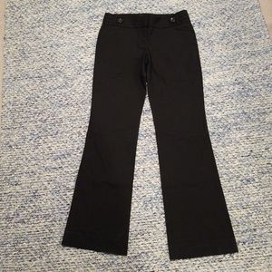 limited exact stretch black pants 8r